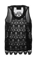 Philipp Plein Skull Back Tank Top - Lyst