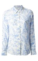 Equipment Printed Shirt - Lyst