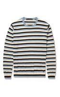 Marc By Marc Jacobs Striped Silk Cotton and Cashmereblend Sweater - Lyst