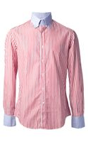 Michael Bastian Striped Shirt - Lyst