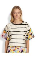 Sachin & Babi Mariette Multiprint Top