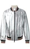Marc By Marc Jacobs Metallic Jacket - Lyst