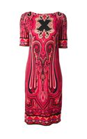 Etro Paisley Motif Print Dress - Lyst