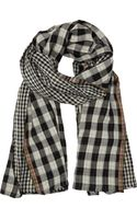 Paul Smith Checkered Scarf