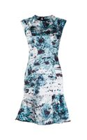 Yigal Azrouel Floral Print Dress - Lyst