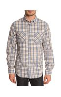 Denim & Supply Ralph Lauren Ward Blue Shirt