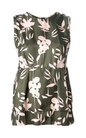 Marni Sleeveless Floral Top