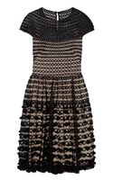 Temperley London Trellis Ribbon-embroidered Tulle Dress - Lyst