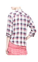 Etoile Isabel Marant Womens Ugo Plaid Buttondown Shirt - Lyst