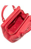 Tory Burch Amanda Slouchy Mini Satchel Bag Hot Pink - Lyst