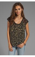 Nanette Lepore Amazon Print Capazo Top