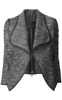Yigal Azrouel Metallic Tweed Jacket - Lyst