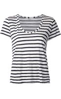 Splendid Striped Top - Lyst