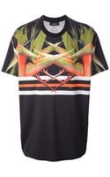 Givenchy Bird Of Paradise Print Tshirt