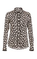 Veronica Beard The Button Down Blouse - Lyst