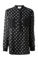 3.1 Phillip Lim Polka Dot Printed Blouse