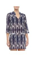 Shoshanna Nautical Tunic Coverup - Lyst