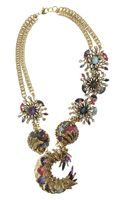Erickson Beamon Clairvoyant Goldplated Swarovski Crystal Necklace
