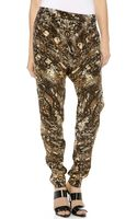 Otte New York Snake Harem Pants - Lyst