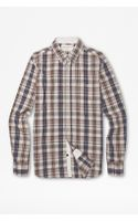 French Connection Vintage Check Shirt - Lyst