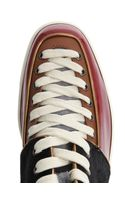 Christian Louboutin Alfie Calf Hair High Top Trainers