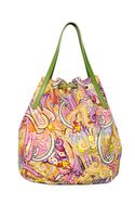 Etro Calcutta Paisley Cotton Canvas Bag