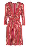 Issa Printed Silkjersey Dress - Lyst