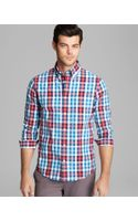 Jack Spade Avery Check Sport Shirt Slim Fit