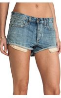 Rag & Bone Marilyn Short - Lyst