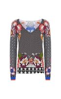 Etro Geometric Paisley Sweater