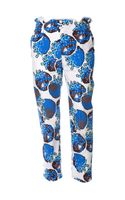 Julien David Tomato Print Trousers - Lyst