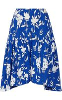 Marni Printed Cotton Midi Skirt - Lyst