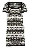 M Missoni Crochet Knit Cotton Blend Dress - Lyst