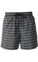Paul Smith Geometric Print Swim Shorts - Lyst