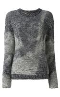 Theyskens' Theory Crew Neck Sweater - Lyst