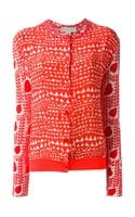 Stella McCartney Heart Printed Cardigan