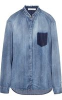 Pierre Balmain Chambray Shirt - Lyst