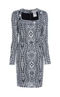 Emilio Pucci Graphic Print Dress - Lyst
