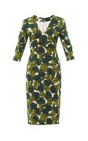 Antonio Berardi Forest Print Fitted Dress