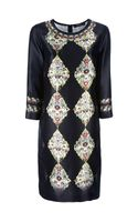 Etro Patterned Boxy Shift Dress - Lyst