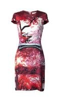 Mary Katrantzou Cap Sleeve Printed Dress