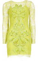 Matthew Williamson Wing Lace Embroidered Mini Dress - Lyst
