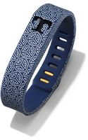 Tory Burch For Fitbit Silicone Printed Bracelet - Lyst