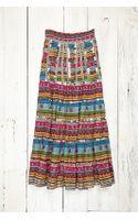 Free People Vintage Maxi Printed Skirt - Lyst