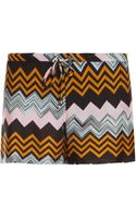 Missoni Short Shorts - Lyst