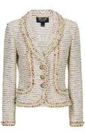 St. John Neon Tweed Jacket - Lyst