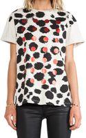 Être Cécile Cheetah Foil Dots Oversized Tshirt - Lyst