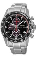 Seiko Mens Solar Chronograph Stainless Steel Bracelet Watch 41mm Ssc271 - Lyst