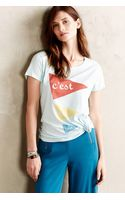 Sol Angeles Bonjour Tee - Lyst