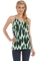 Kensie Patterned Tank - Lyst